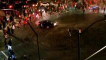 Atropellan a un espectador durante 'sideshow' en San José