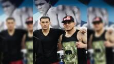 Los hermanos Benavidez comparten cartelera el próximo 28 de agosto