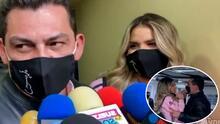 """""""Hay que tener mucha responsabilidad"""": José Manuel Figueroa es acompañado de su nueva novia mientras responde sobre la acusación de violencia que recibió de su ex, Farina Chaparro"""