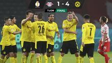 El Borussia Dortmund golea y se proclama campeón de la Pokal