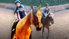 """""""Quedé en shock"""": Aislinn Derbez tuvo un accidente a caballo y así su hija la ayuda a superarlo"""