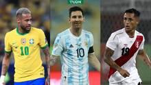Messi, Neymar y Luis Díaz encabezan Equipo Ideal de la Copa América