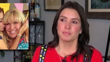 Entre lágrimas, Andrea Escalona comparte su receta para sanar por la muerte de su madre Magda Rodríguez