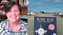 Inspiración que vuela por los cielos (literalmente): capitana de vuelo lanza libro de poesía escrita por pilotos