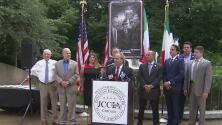 Organización pide que se reubique estatua de Cristóbal Colón removida durante protestas del verano pasado en Chicago