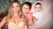 Ximena Duque aclara por qué no le toma tantas fotos a su bebé Skye como a su hija Luna