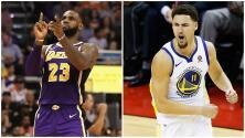 Creatividad al estilo NBA: LeBron James y Klay Thompson se robaron el show en Halloween