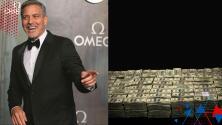 George Clooney confesó haber regalado un millón de dólares en efectivo a 14 de sus amigos