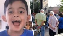 """""""Nunca hay palabras cuando se pierde un hijo"""": Rinden homenaje al niño de 6 años que murió en Panama City Beach"""