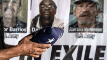 """""""Queremos que puedan regresar a su país"""": honran en el Día de los Caídos a los veteranos deportados"""