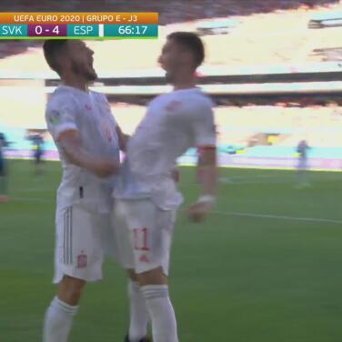 ¡Ya es goleada! Ferrán Torres sella el cuarto gol español