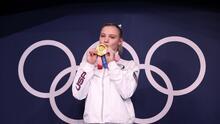 Jade Carey, gimnasta de Arizona, gana medalla de oro en los Juegos Olímpicos de Tokio
