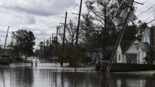 Así está el panorama en el oeste de Nueva Orleans, una de las áreas más afectadas por el huracán Ida