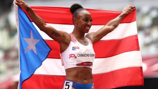 Una boricua gana oro en 100 metros vallas; Cuba pierde en salto de longitud