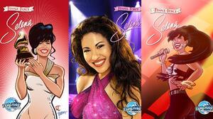 Selena aparecerá en un nuevo cómic en EEUU en español e inglés