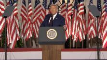 Trump acepta la nominación del Partido Republicano y agita el fantasma del socialismo frente al sueño americano