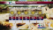 Comienza a subir la temperatura en Phoenix