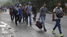 Nuevo grupo de migrantes parte hacia EEUU desde Honduras y desata la ira de Trump