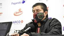 Luis Fernando Tena, agradecido con Amaury Vergara
