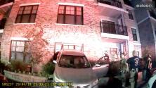 SIN EDITAR: Adolescente estrella auto contra edificio de apartamentos en Duluth