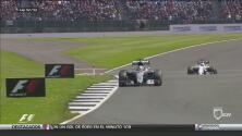 Lewis Hamilton ganó el premio de Gran Bretaña y hubo sanción a Rosberg por un audio