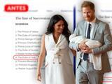 Ahora sí: la hija de Meghan Markle y el príncipe Harry ya aspira al trono (pero prevalece un misterio)