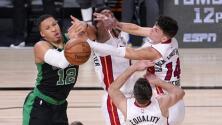 Por el COVID-19, la NBA aplaza el partido entre Celtics y Heat