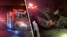 Más de 15 autos involucrados en choque múltiple en Florida