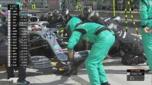 ¡Mercedes entrega la carrera!