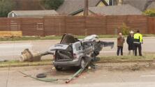 Tres estudiantes de Dallas permanecen en condición crítica tras un accidente de tránsito