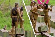 Brenda y Guty volvieron a la senda del triunfo con un buen baño de lodo