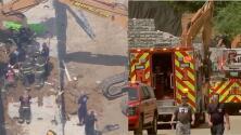 Trabajador hispano muere en accidente de construcción en el sitio del futuro almacén de Amazon