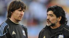 Messi nunca podrá compararse con Maradona, según Kempes