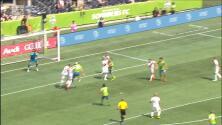 Nicolás Lodeiro vuelve a exhibir su zurda de oro y sirve el gol con el que Seattle 'madruga' al Galaxy