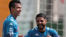 ¿Hubo pelea contra Hirving Lozano en el Napoli?