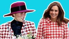 ¿Homenaje a Lady Di?: Kate Middelton viste un look muy parecido al de la princesa Diana