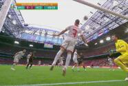 ¡En la línea! Trickovski evita el segundo de Holanda en remate de De Ligt