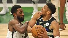 ¡Hay Juego 7! Giannis y Middleton dan vida a los Bucks ante Nets