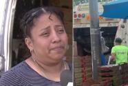 """""""No sé si fue racismo"""": vendedora hispana denuncia que autoridades decomisaron y tiraron su mercancía a la basura"""