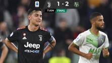 ¡Le pegan a la Signora! Juventus perdió con Sassuolo y en su casa