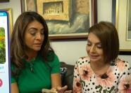 María Antonieta Collins se animó a buscar novio en una app de citas