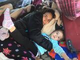 La otra caravana que quedó en Tijuana esperando para pedir asilo en EEUU, los mexicanos