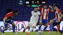 Messi y Argentina no pasan del empate ante Paraguay