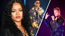 Ricky Martin y Daddy Yankee llevan el poder latino al desfile de la nueva colección de ropa de Rihanna