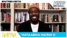 Candyman regresa a Chicago y Yahya Abdul-Mateen II nos cuenta todo de la película