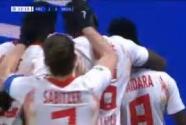 ¡Llega el segundo! Amadou Haidara marca el gol para el Leipzig