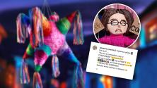"""Crean piñata del estudiante no binario que se hizo viral al confrontar a joven por llamarle """"compañera"""""""