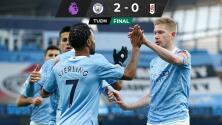De Bruyne pone al City en el cuarto lugar de la Premier League