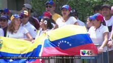 Venezolanos en Houston se unen a protesta mundial