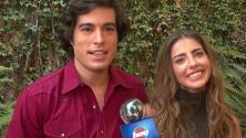 Danilo Carrera y Michelle Renaud cuentan cómo celebrarán las fechas decembrinas, uno de ellos lejos de su familia